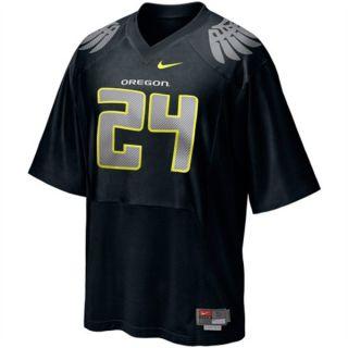 Oregon Ducks #24 Nike BLACK Football Jersey sz Youth Medium