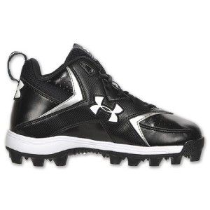 Armour UA Hammer II Mid Youth Football Cleats 1099060 Size 1 5Y