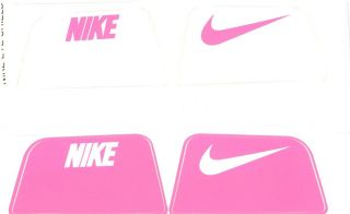Edition Breast Cancer Nike Football Eyeshield Visor Decals