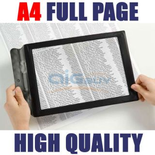 5x full page magnifier lens floor lamp led light craft reading sewing. Black Bedroom Furniture Sets. Home Design Ideas