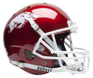 Arkansas Razorbacks Schutt Air XP Replica Football Helmet