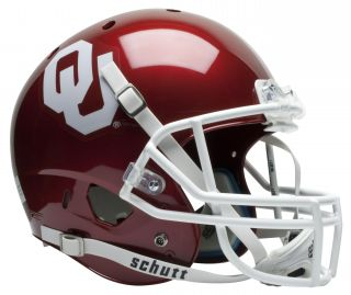 Oklahoma Sooners Schutt Air XP Replica Football Helmet
