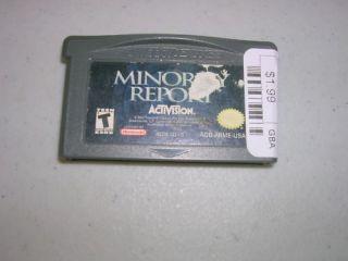 Minority Report Game Boy Advance GBA