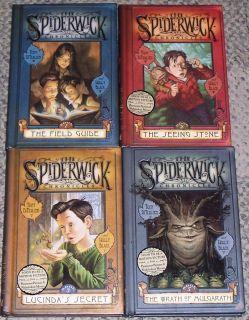THE SPIDERWICK CHRONICLES Series by Tony DiTerlizzi, Lot of 4 Hardback