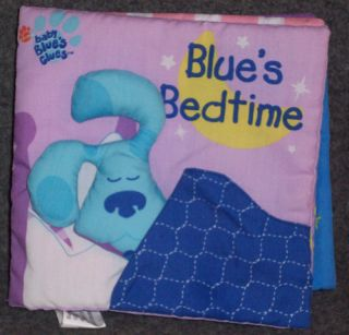 Nick Jr Blues Clues Blues Bedtime Cloth Rag Book
