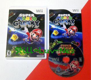 Nintendo Wii Game ★★★ Super Mario Galaxy ★★★ Complete VG