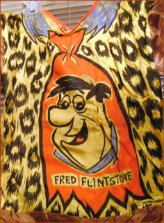 Today we are offering this vintage Fred costume from the Hanna Barbera