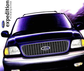1999 Ford Expedition Factory Brochure XLT Eddie Bauer
