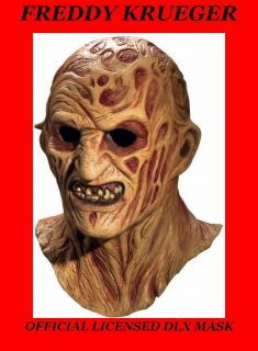 Freddy Krueger Movie Mask Nightmare on Elm St Jason Saw