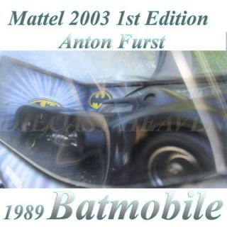 Wheels B6046 1st Edition 2003 Anton Furst 1989 Batmobile 1 18