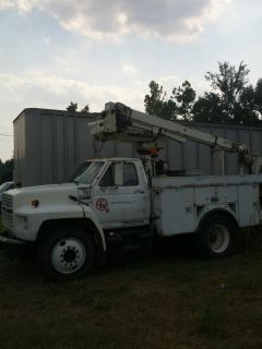 Ford F700 Bucket Truck Automatic Transmission