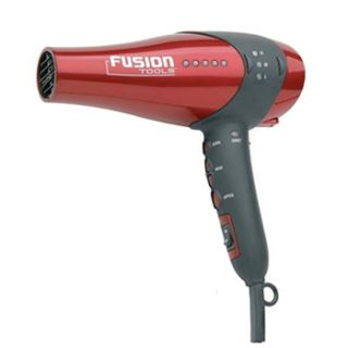 Red Fusion Tools HTX002 Hair Dryer w Ceramic Heater