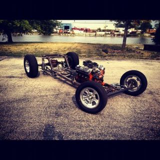 Ford Model A Custom Chassis Hot Rod Rat Rod Street Rod Frame