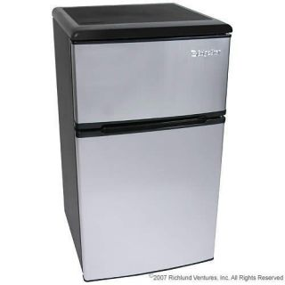 Stainless Steel 3 2 CU ft Fridge Refrigerator Freezer CRF320SS