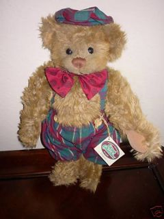 Ganz Cottage Collectibles Teddy Bear Dempster MWT