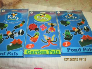 Kids Craft Kits Furry Friends Pond Pals and Garden Pals Pepperell