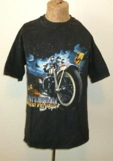 DAVIDSON Long Sleeve T Shirt FREMONT CA Vtg GRAY Motorcycle Mens MD