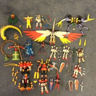 Huge Gundam Action Figure Lot MSIA G Gundam Seed Destiny 14 Figures