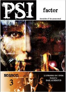 PSI Factor Chronicles of The Paranormal Sea New DVD