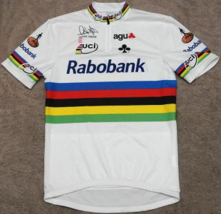 Rabobank Oscar Freire UCI World Champion XL Vintage Cycling Jersey