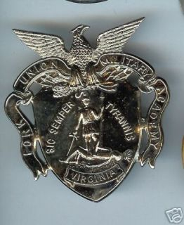 Old Cap Badge Fork Union Military Academy Virginia