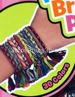 Friends Bands Friendship Bracelet Making Kit 2 Looms & 30 Colors