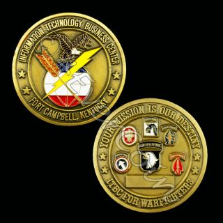 ITBC Fort Campbell Challenge Coin