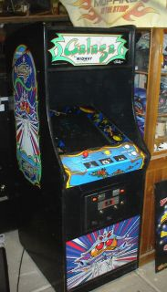 Galaga Arcade Video Game Original Bally Midway MS Pac Man