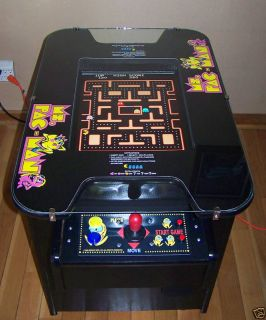 MS Pacman Galaga Pac Man Arcade Cocktail Game New