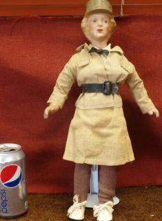 WWII Era Freundlich w A A C Doll 2 1940S