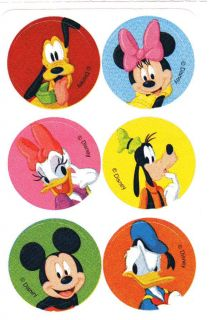 Smilemakers Sticker Mini Round Mickey Mouse 2 Goofy