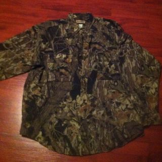 Fly Fishing Hunting Fishing Remington Mossy Oak Vented Shirt XL