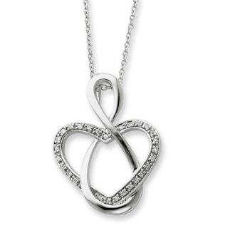 Silver Family Jewelry Lifetime Friend Necklace
