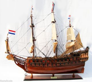 "Friesland 36"" Wooden Model SHIP"