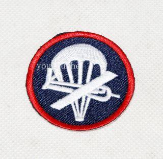 WW2 US Airborne Paratrooper Garrison Cap Badge Insignia 31924