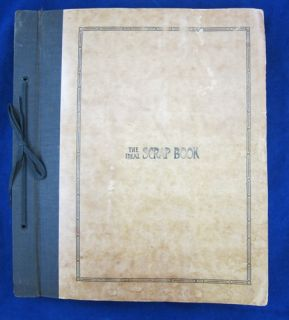 1930 Scrapbook Sioux City Missouri Dionne Quintuplets Richard Strauss