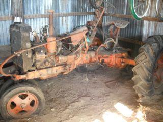VA Case Tractor Rebuilt Continental Engine