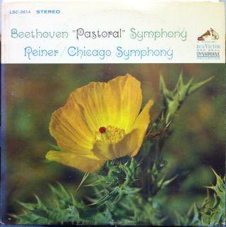 Living Stereo SD Fritz Reiner Beethoven Symphony No 6 Pastoral LP Mint