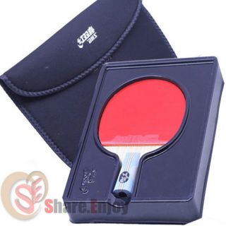 DHS Double Happiness Sports 6006 Table Tennis Racket Ping Pong Paddle