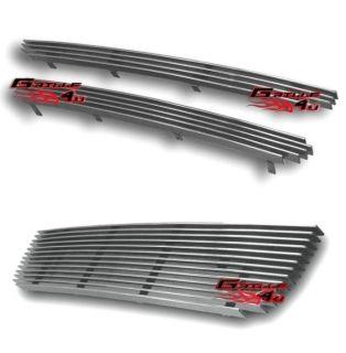 01 04 Nissan Frontier Billet Grille Combo Upper Lower