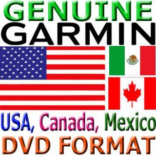 Garmin City Navigator USA North America 2012 Maps DVD