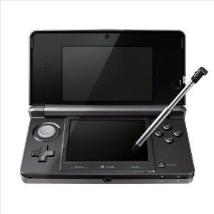 Nintendo 3DS Console Game Hardware Cosmo Black Japan 0045496719210