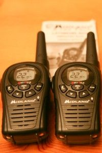 midland lxt380 frs gmrs radio walkie talkie 24 miles