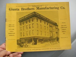 Giunta Bros Phila Fruit Presses Crushers Pasta Ice Cream Makers