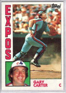 Gary Carter 1984 Topps 450