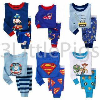 Baby Gap Pyjamas Long Sleeves Cute Boys Toddler Infant PJs Pajamas