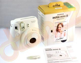 Fujifilm Instant Instax Mini 8 Polaroid Film Camera   Pink Color