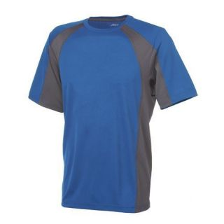 Mens BCG Mens Cool Skin Short Sleeve Crew Neck T Shirt XL Royal Blue