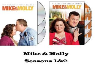 Mike & Molly The Complete First & Second Season (DVD, 2012) Seasons 1
