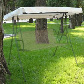66x45 Replacement Outdoor Swing Canopy Porch Top Cover Patio Yard Seat